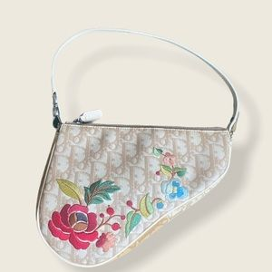 RARE Dior Saddle Bag